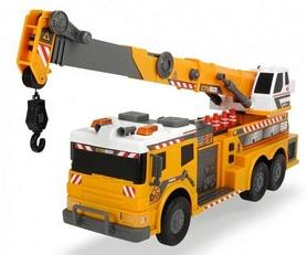 Грузовой автомобиль Dickie Toys с краном, аксессуарами, световыми и звуковыми эффектами