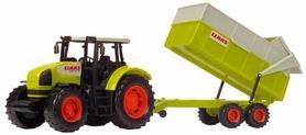 Трактор Dickie Toys Claas с прицепом