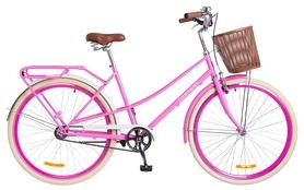 """Велосипед городской женский Dorozhnik Comfort Female 14G St 2018 - 28"""", рама - 19,5"""", розовый"""