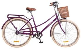 """Велосипед городской женский Dorozhnik Comfort Female 14G St 2018 - 28"""", рама-19,5"""", фиолетовый"""