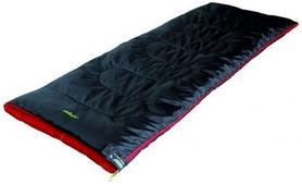Мешок спальный (спальник) High Peak Ranger/+7°C левый Black/red
