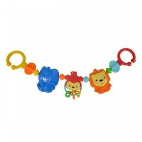 "Погремушка-цепочка на кроватку Simba Toys ""Весёлые животные"" 52 см"
