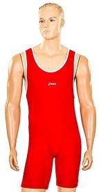 Трико борцовское, тяжелоатлетическое мужское CO-5440-R красное