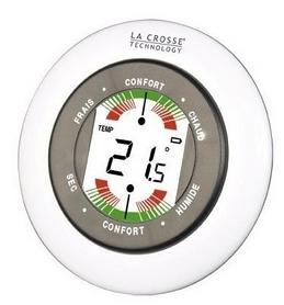 Термометр-гигрометр La Crosse WT138-W-BLI, белый