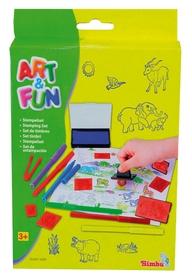 Набор для творчества большой Simba Toys Штампы и фломастеры
