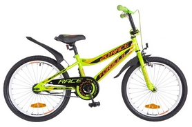 "Велосипед детский Formula Rасе St 2018 - 20"", рама - 10,5"", зелено-оранжевый (OPS-FRK-20-043)"