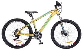 "Велосипед горный Formula Blaze AM2 14G HDD St 2018 - 26"", рама - 15"", желтый (OPS-FR-26-237)"
