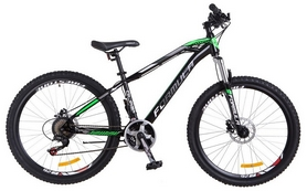 """Велосипед горный Formula Blaze AM2 14G HDD St 2018 - 26"""", рама - 15"""", черно-зеленый"""