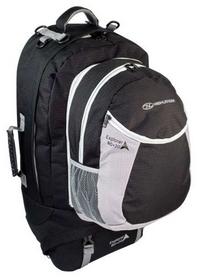 Рюкзак туристический Highlander Explorer Ruckcase Black, 80 л + 20 л