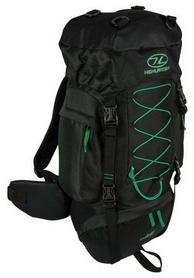 Рюкзак туристический Highlander Rambler Black/Forest Green, 44 л