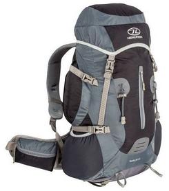 Рюкзак туристический Highlander Rocky Black/Grey, 35 л + 5 л