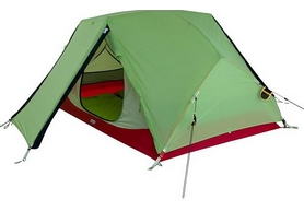 Палатка двухместная Wechsel Challenger 2 Zero-G (Pear) + коврик Mola, 2 шт