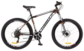 """Велосипед горный Formula Special AM 14G DD St 2018 - 27,5"""", рама - 19"""", черно-оранжевый"""