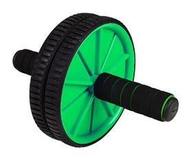 Ролик для пресса двойной Hop-Sport зеленый