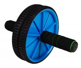 Ролик для пресса двойной Hop-Sport синий