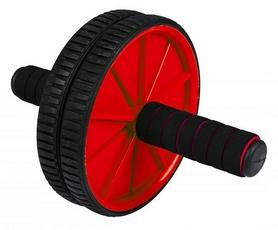 Ролик для пресса двойной Hop-Sport красный