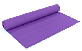 Коврик для йоги (йога-мат) Zelart, фиолетовый, 5 мм