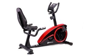 Велотренажер горизонтальный Hop-Sport HS-67R Axum black/red