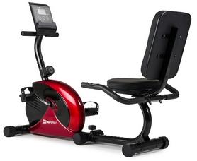 Велотренажер горизонтальный Hop-Sport HS-65R Veiron red/black
