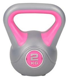 Гиря виниловая Hop-Sport, 2 кг