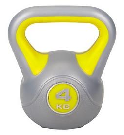 Гиря виниловая Hop-Sport, 4 кг