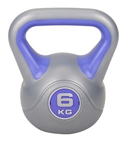 Гиря виниловая Hop-Sport, 6 кг