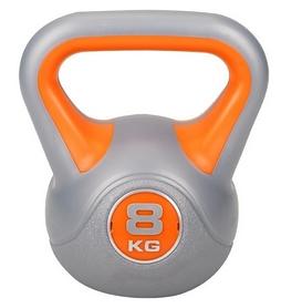 Гиря виниловая Hop-Sport, 8 кг