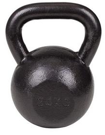 Гиря металлическая Hop-Sport, 24 кг