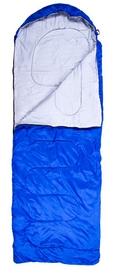 Мешок спальный (спальник) Green Camp S1004 - синий, (180 + 30) * 75 см