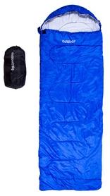 Мешок спальный (спальник) Green Camp OUT-200 - серо-синий, 230 см * 75 см