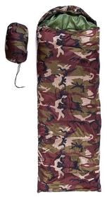 Мешок спальный (спальник) Green Camp S1005A - камуфляж коричневый