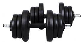 Фото 1 к товару Гантели наборные композитные Hop-Sport, 2 шт по 10 кг
