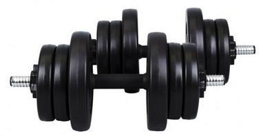 Гантели наборные композитные Hop-Sport, 2 шт по 10 кг