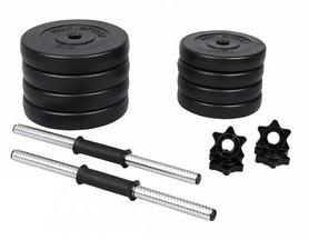 Фото 4 к товару Гантели наборные композитные Hop-Sport, 2 шт по 15 кг