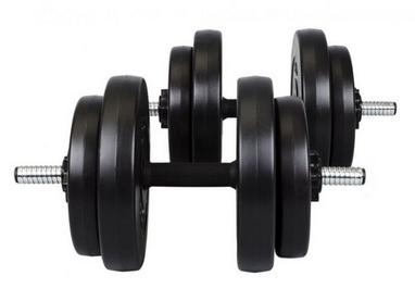 Гантели наборные композитные Hop-Sport, 2 шт по 15 кг