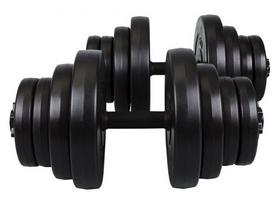 Фото 1 к товару Гантели наборные композитные Hop-Sport, 2 шт по 20 кг