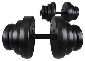 Фото 2 к товару Гантели наборные композитные Hop-Sport, 2 шт по 20 кг