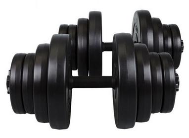 Гантели наборные композитные Hop-Sport, 2 шт по 20 кг
