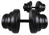 Гантели наборные композитные Hop-Sport, 2 шт по 20 кг - фото 2