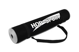 Мат для фитнеса Hop-Sport HS-2256 - серо-черный
