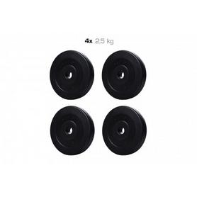Набор дисков композитных Elitum Titan A, 10 кг (4 шт по 2,5 кг)