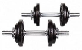 Гантели наборные Hop-Sport Strong, 2 шт по 10 кг