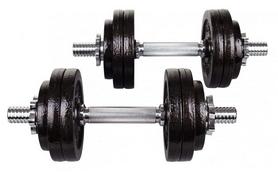Гантели наборные Hop-Sport Strong, 2 шт по 15 кг