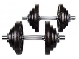 Гантели наборные Hop-Sport Strong, 2 шт по 20 кг