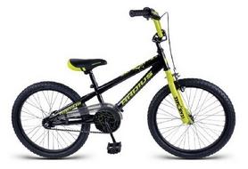 """Велосипед детский BMX Radius Explosive Mini 2018 - 20"""", рама - 10"""", черный (SKD-94-81)"""