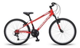 """Велосипед подростковый Radius Axis AL 2018 - 24"""", рама - 13"""", красный (SKD-89-54)"""