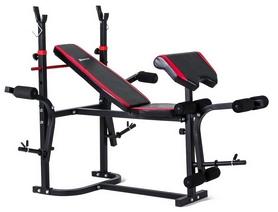 Скамья для жима Hop-Sport HS-1020 с тягой + набор Strong, 85 кг