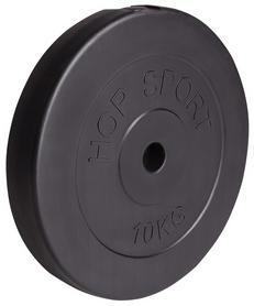 Диск композитный Hop-Sport - 31 мм, 10 кг - Фото №2