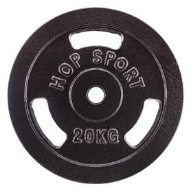 Фото 1 к товару Диск стальной Hop-Sport - 31 мм, 20 кг