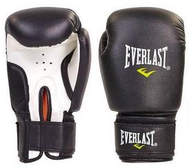 Перчатки боксерские Everlast Юниор MA, черные (MA-0033-BK)